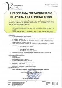 PROGRAMA DE AYUDA A LA CONTRATACIÓN
